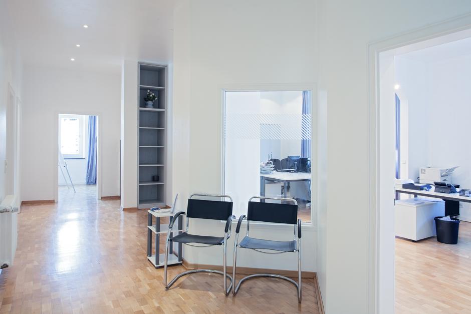 Wartebereich Kunden Immobilienmanagement Gelsenkirchen